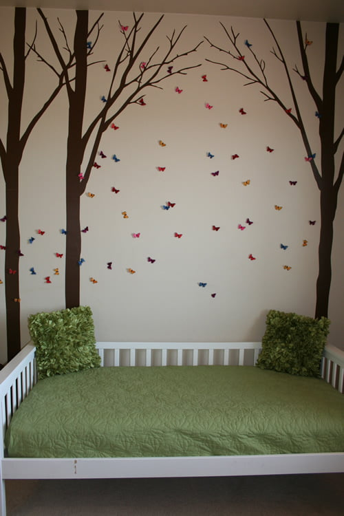 Woodland Kids Bedroom Such The Spot
