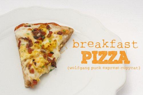 breakfast pizza :: wolfgang puck