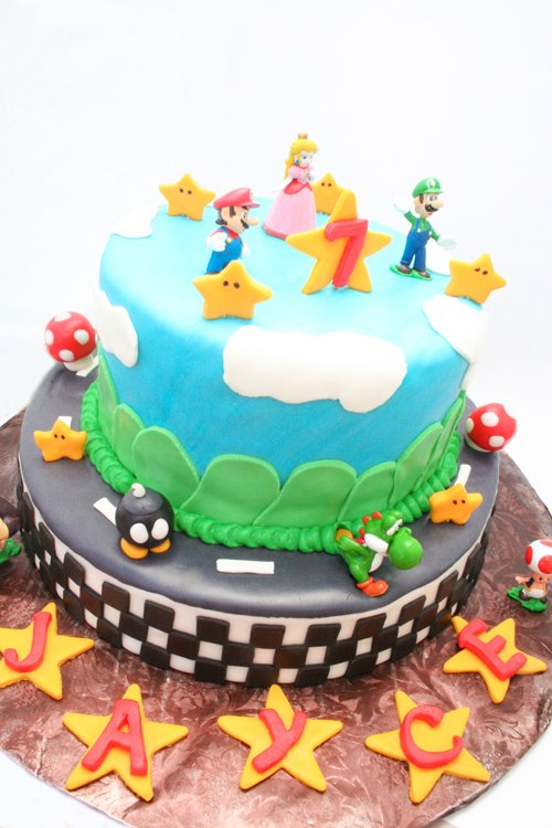 Fantastic Mario Kart Birthday Party Such The Spot Personalised Birthday Cards Sponlily Jamesorg