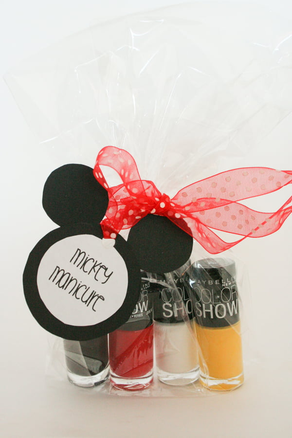 Mickey Manicure Fish Extender Gift Idea