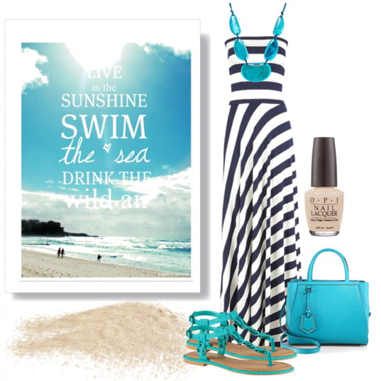 Beach vacation outfit idea | Suchthespot.com