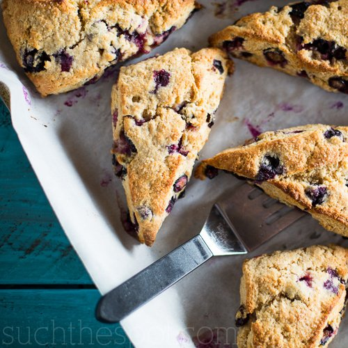 Blueberry Breakfast Scones Recipe