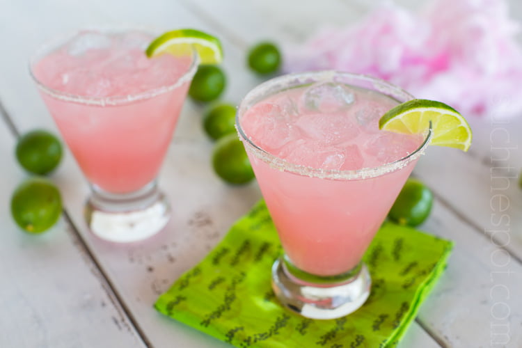 Cotton Candy Margaritas | The Ultimate Pink Cocktail