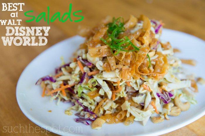 Best salads at Walt Disney World