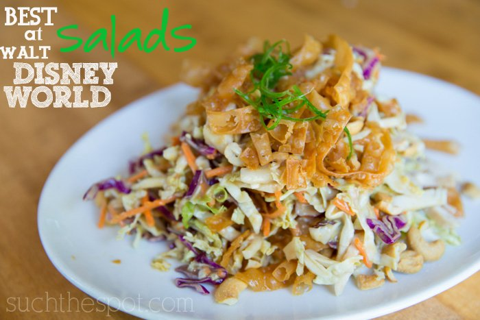 Best salads at Walt Disney World