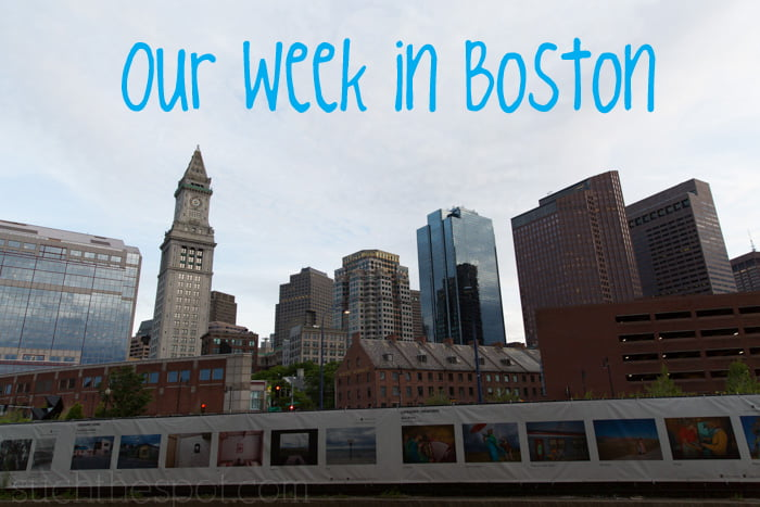 Family travel :: Boston itinerary suggestions