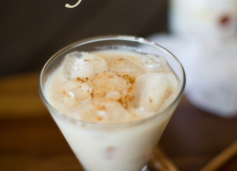 Horchata margarita | Such the Spot