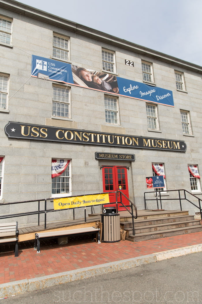 USS Constitution Museum review   Such the Spot
