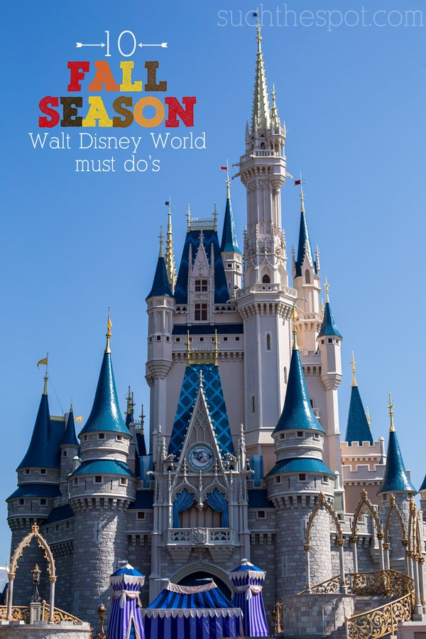 10 Must Do activities for fall Disney trips | Such the Spot