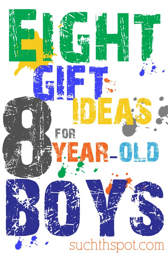 Awesome (screen free!) gift ideas for 8-10 year-old boys | Such the Spot