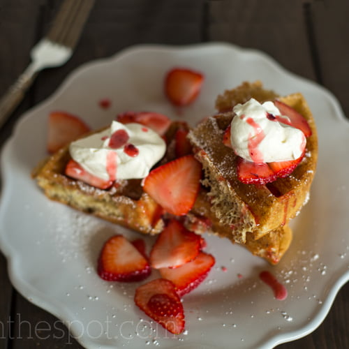 Whole Grain Yeasted Waffles Recipe