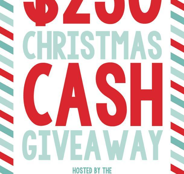 Christmas cash giveaway | Such the Spot