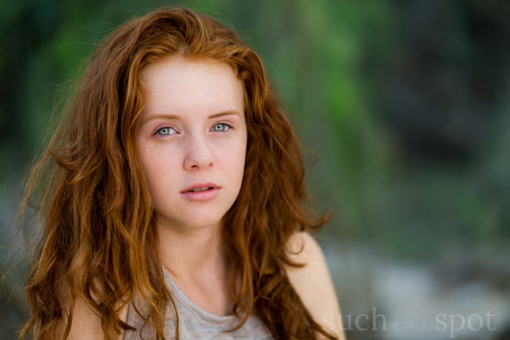 redhead teen girl