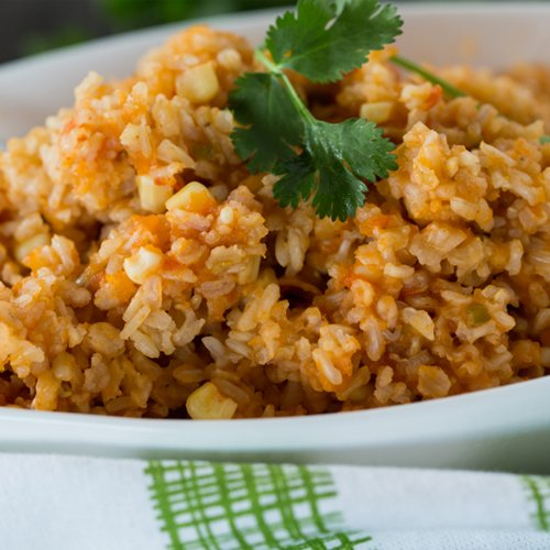 Restaurant Style Mexican Brown Rice