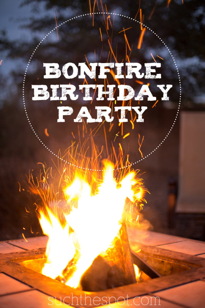 bonfire birthday party ideas for food  decorations and fun