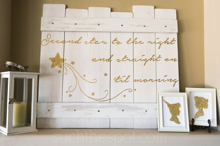 Cute ideas for a Neverland themed baby shower