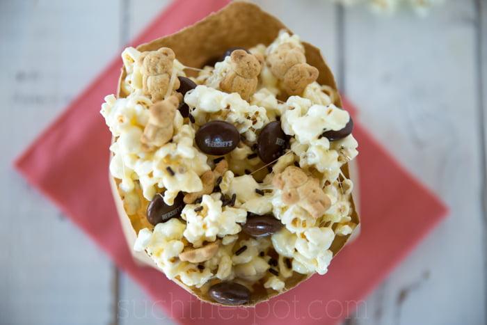 Easy & Quick S'mores Popcorn Snack