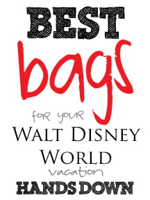 Best bags for your Disney World vacation