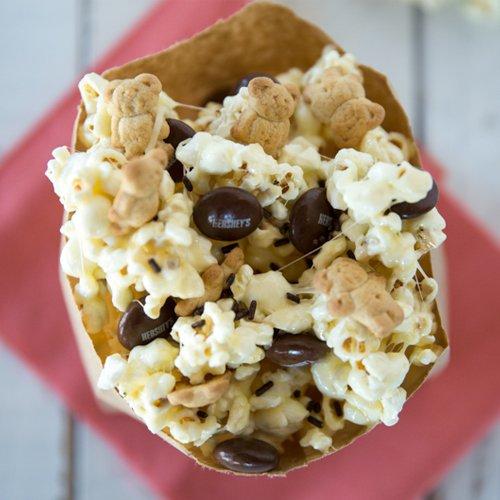 Ooey Gooey S'mores Popcorn