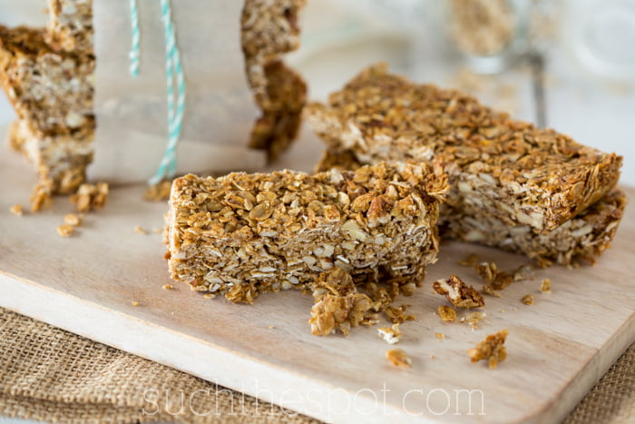 The very best homemade granola bars recipe