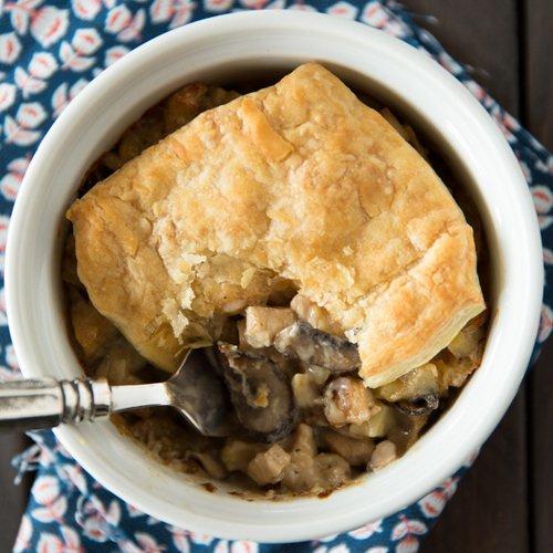 Wild Mushroom & Chicken Pot Pie