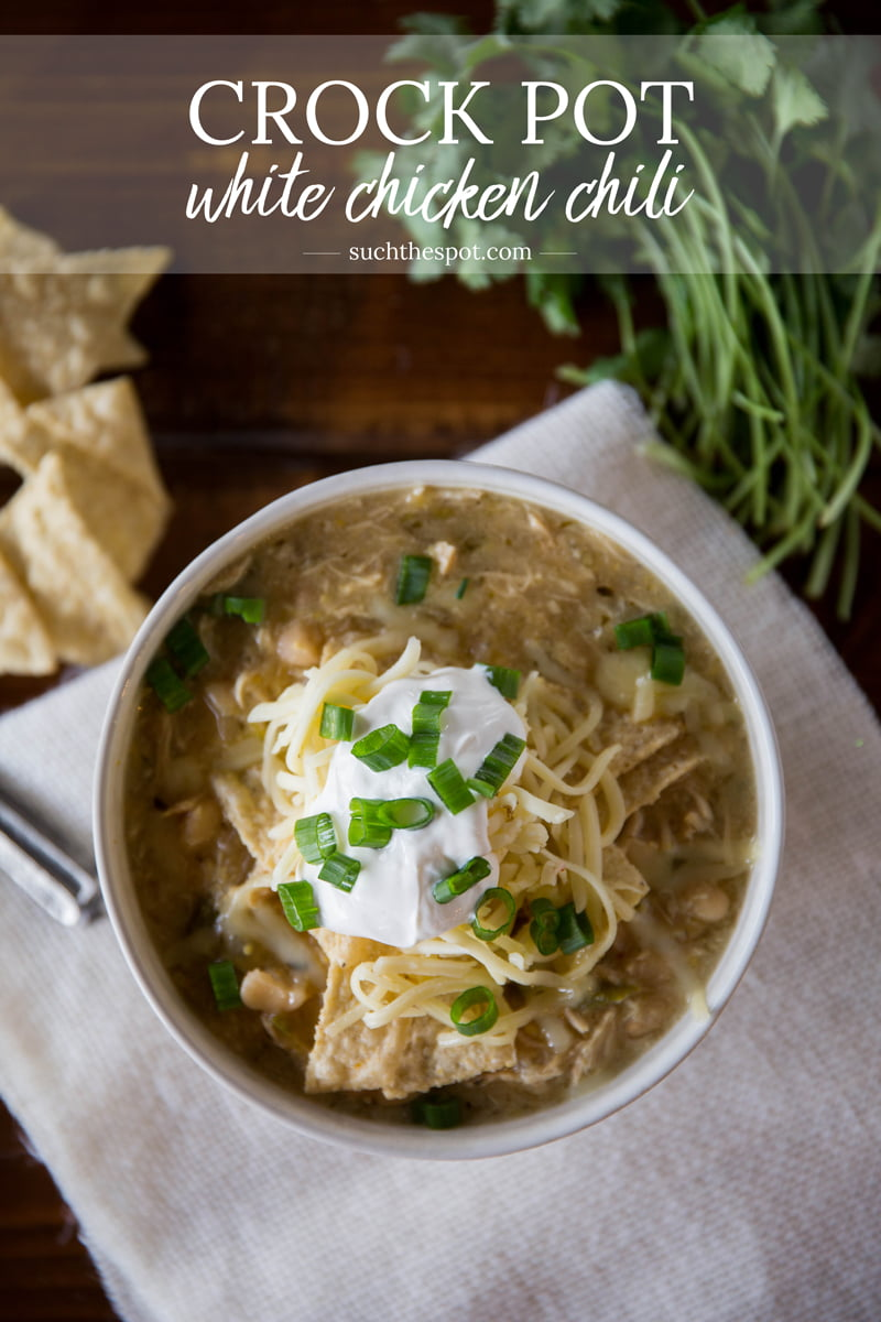 I tried a ton of white chili recipes before settling on this one. It's the perfect comfort food to please the whole family and it's so simple to make.