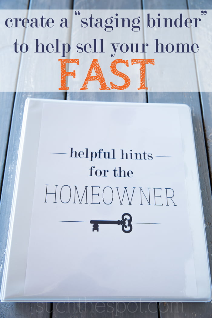 Great ideas for staging a home for quick sale