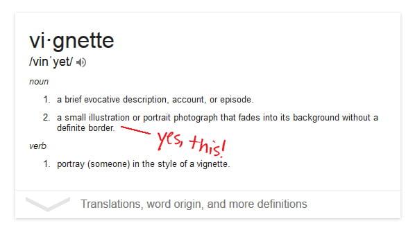 vignette-definition
