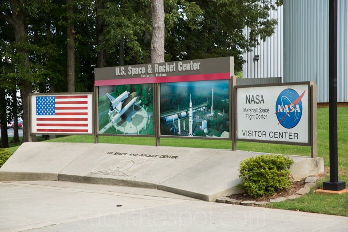 Visiting the Space & Rocket Center in Huntsville, Al