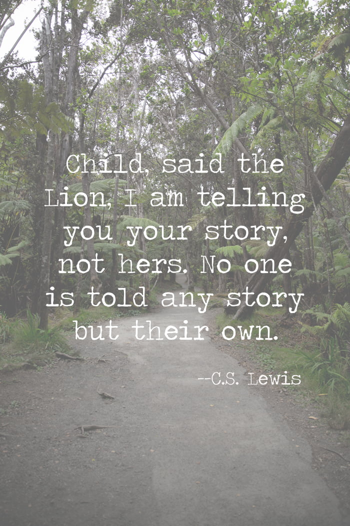 C.S. Lewis quote | Aslan quote | Chronicles of Narnia