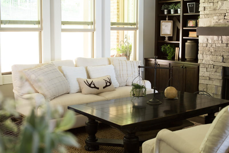 Farmhouse style great room | Such the Spot