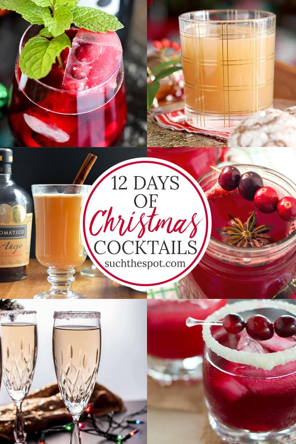12 fun and festive Christmas cocktails