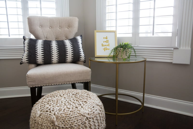 Ideas for creating a travel themed home office space to reflect your personalized travel destinations
