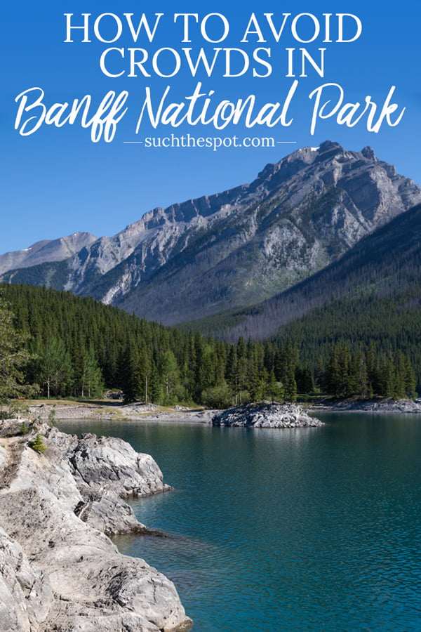 Your trip to the Canadian Rockies and Banff National Park can feel like a private tour. These five tips to avoid crowds in Banff will ensure you come home with beautiful photos and amazing memories!