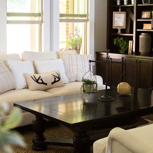 How to decorate a great room in modern farmhouse style