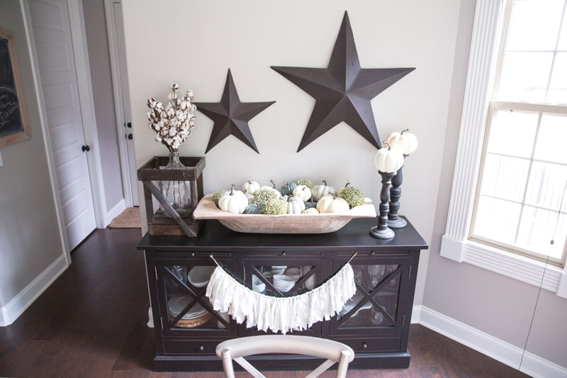 Fall decor ideas | How to decorate for fall with neutral colors