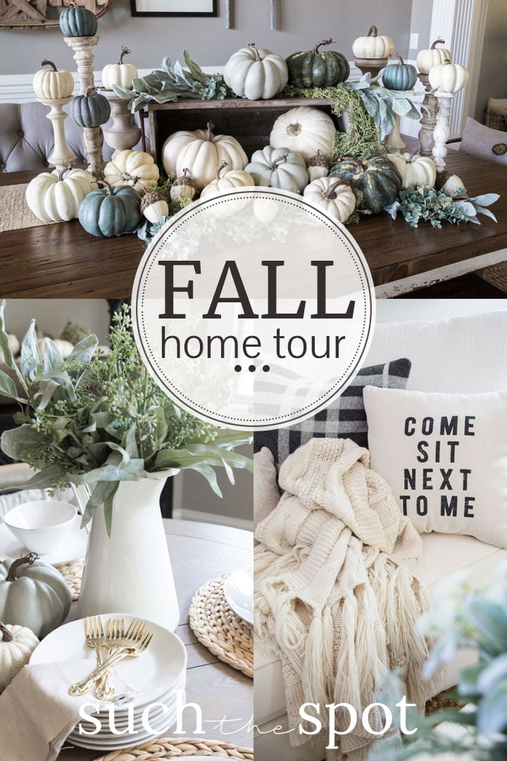 Fall Decor Ideas And Inspiration For Using Neutral Colors Fall Home Tour