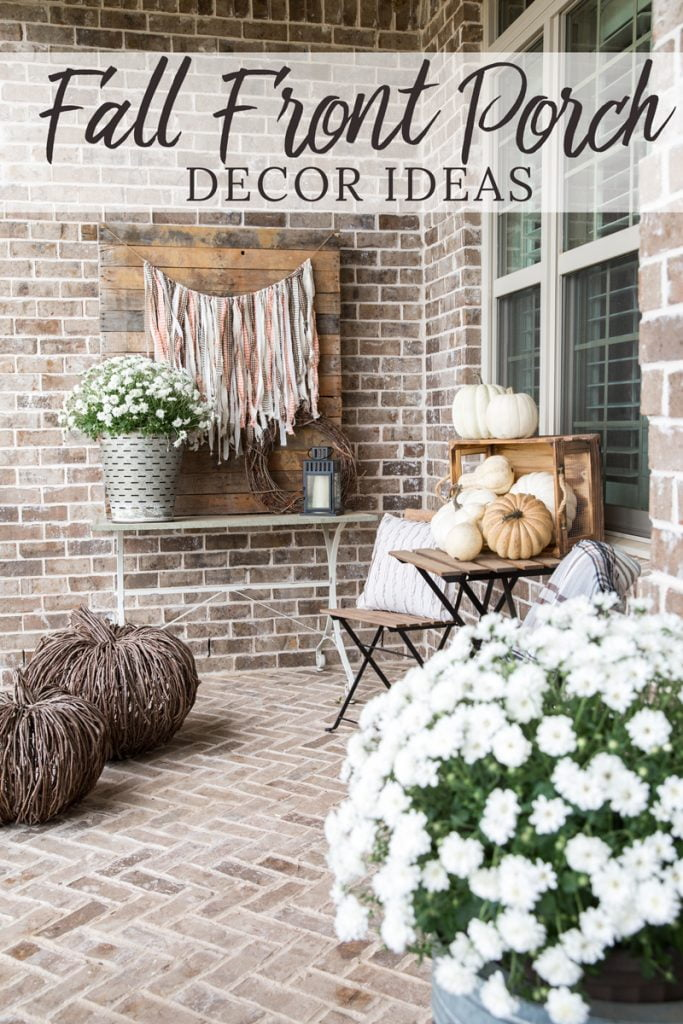 Fall Porch Decor   5 elements you need to DIY a rustic, inviting and seasonal front porch
