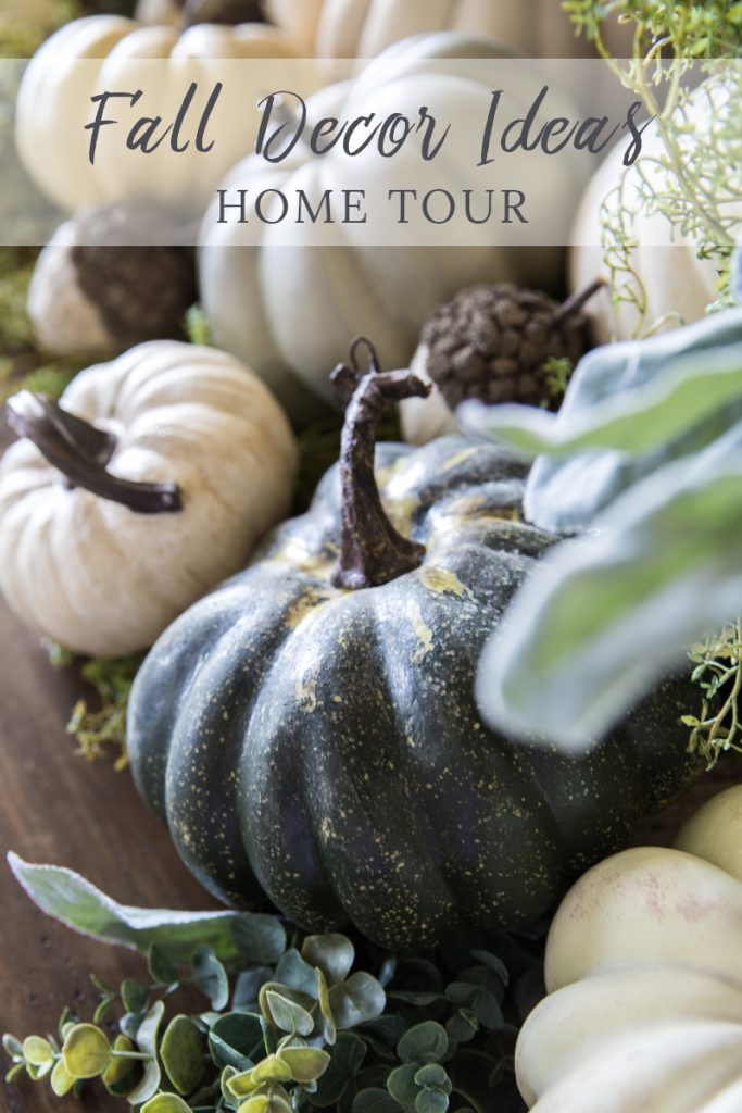 Fall decor ideas   How to decorate for fall with neutral colors