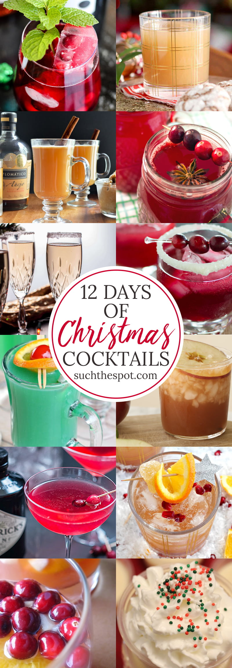 12 Days Of Christmas Cocktails Best Festive Drinks