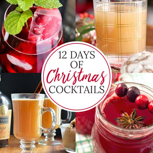 These 12 Christmas cocktails take a grown-up spin on favorite holiday flavors. Check this list (twice) for something to serve for a crowd at your Christmas party!