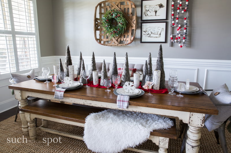 christmas home decor ideas i went a little rustic and a little white christmas in