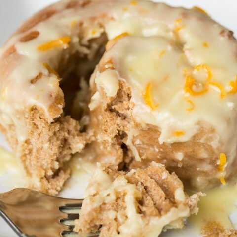 These homemade Orange Creamsicle Rolls are a sweet breakfast or brunch treat for a crowd. Made with whole wheat flour in a bread machine, they're soft and sweet and delicious.