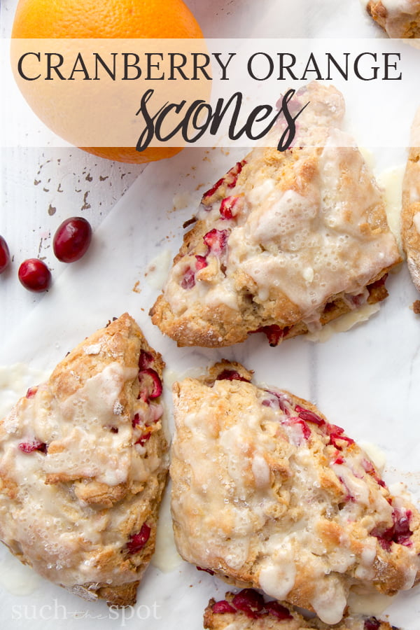 These homemade whole wheat cranberry orange scones are going to be the best thing you put in your mouth all day long. Perfectly balanced flavor and texture will make this your go-to recipe for weekend mornings or a special brunch.