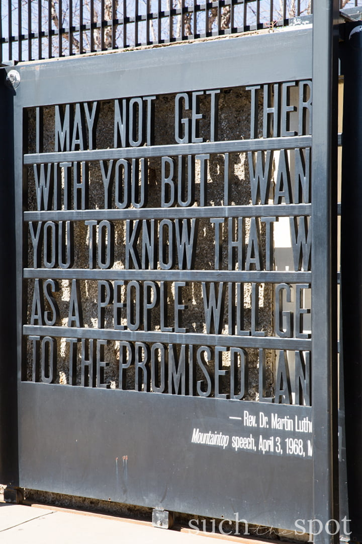 National Civil Rights Museum entrance