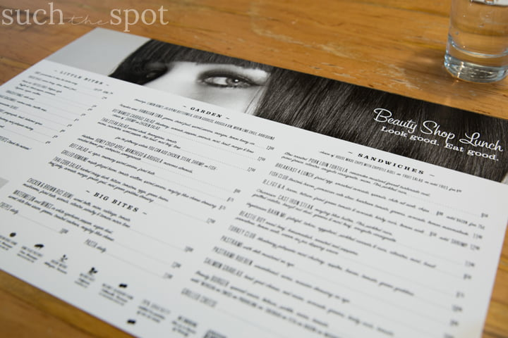 Photo of the The Beauty Shop menu in Memphis