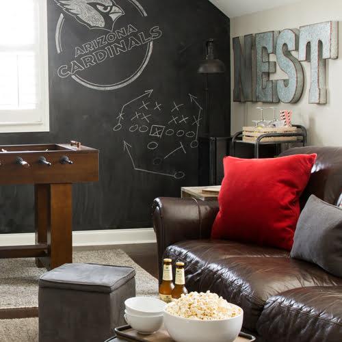 Awe Inspiring Modern Farmhouse Football Man Cave Ideas Such The Spot Ibusinesslaw Wood Chair Design Ideas Ibusinesslaworg