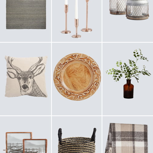 cute and inexpensive autumn home accesories