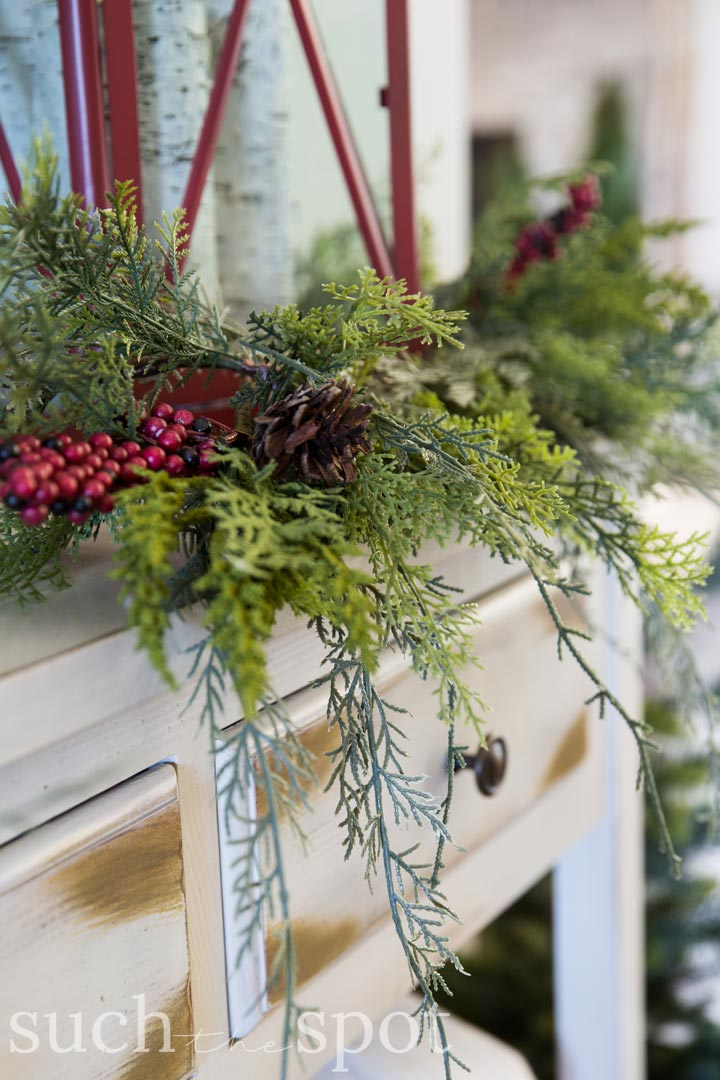 favorite christmas decor realistic cedar garland