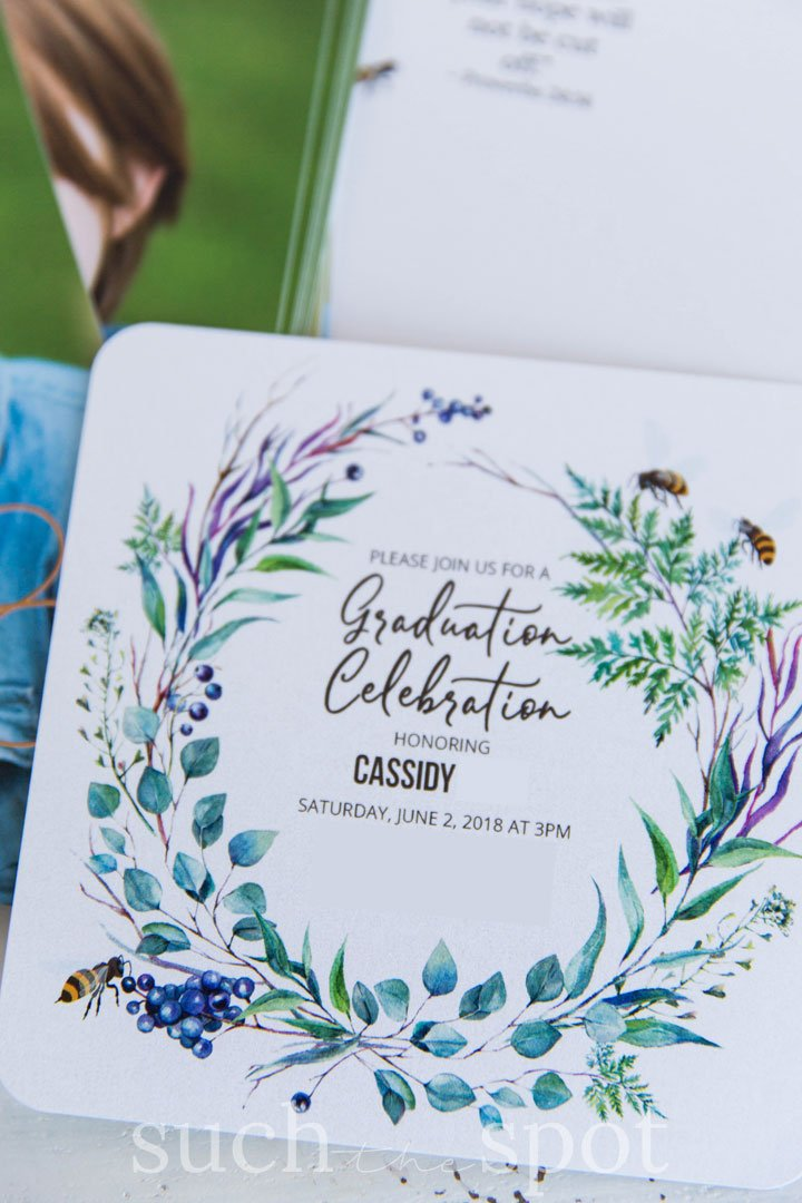 invitations for bee graduation party theme and ideas